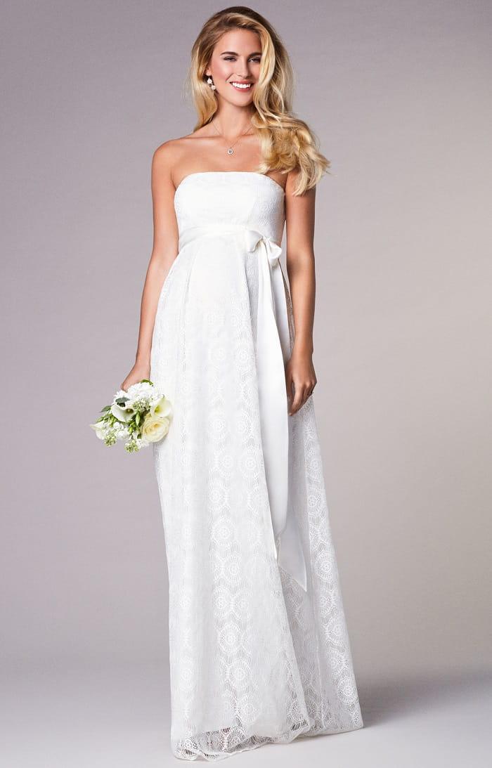 7b5e248f72d Robe mariage enceinte Robe mariage enceinte. Robe longue en dentelle Liara.  Prix 350 euros.