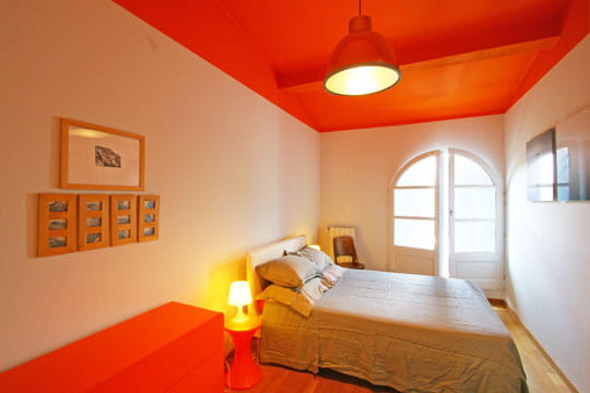 Effet plafond la palette des couleurs chaudes en d co - Peinture et decoration maison ...