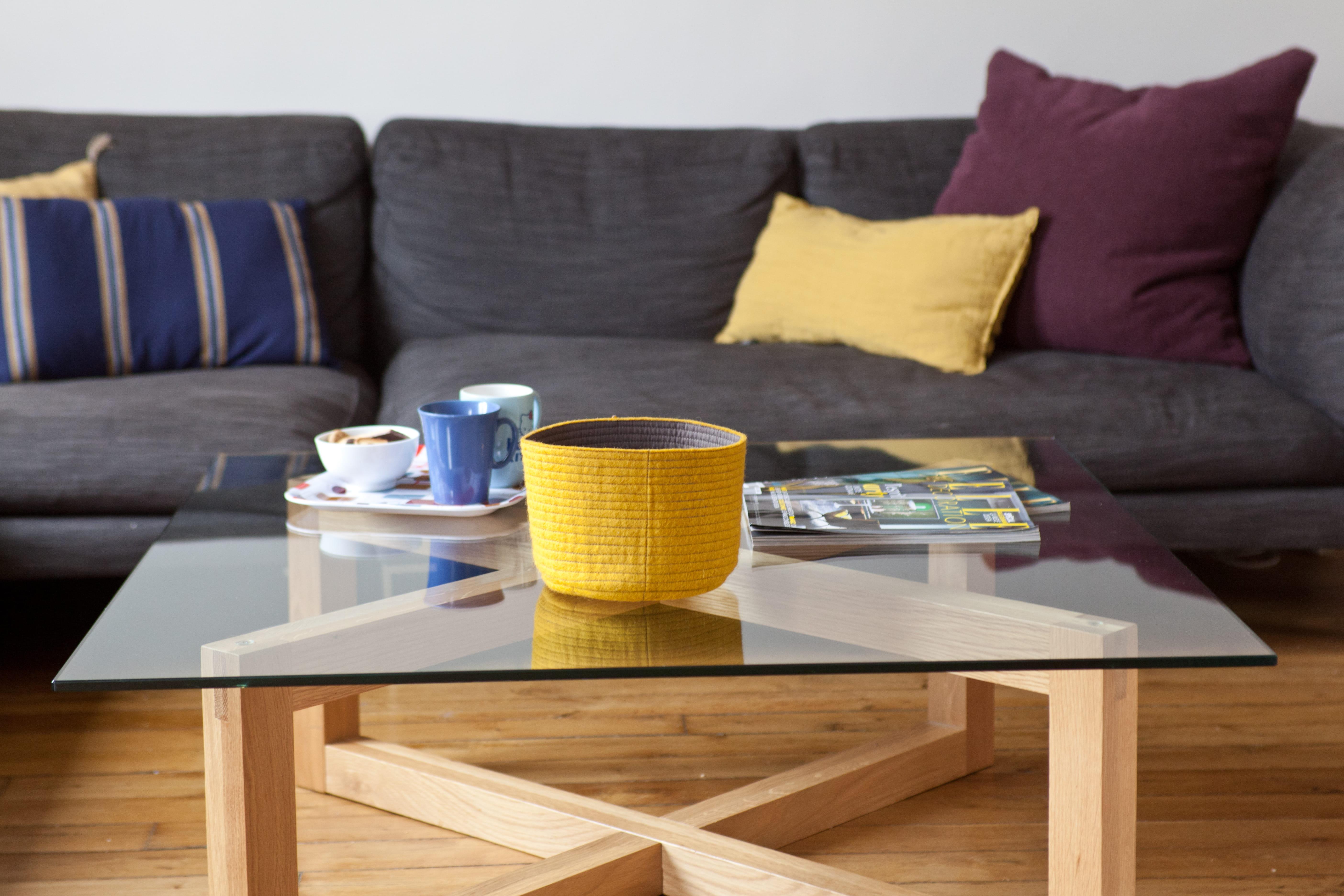 Quelle hauteur id ale pour une table basse journal des - Table salon modulable hauteur ...