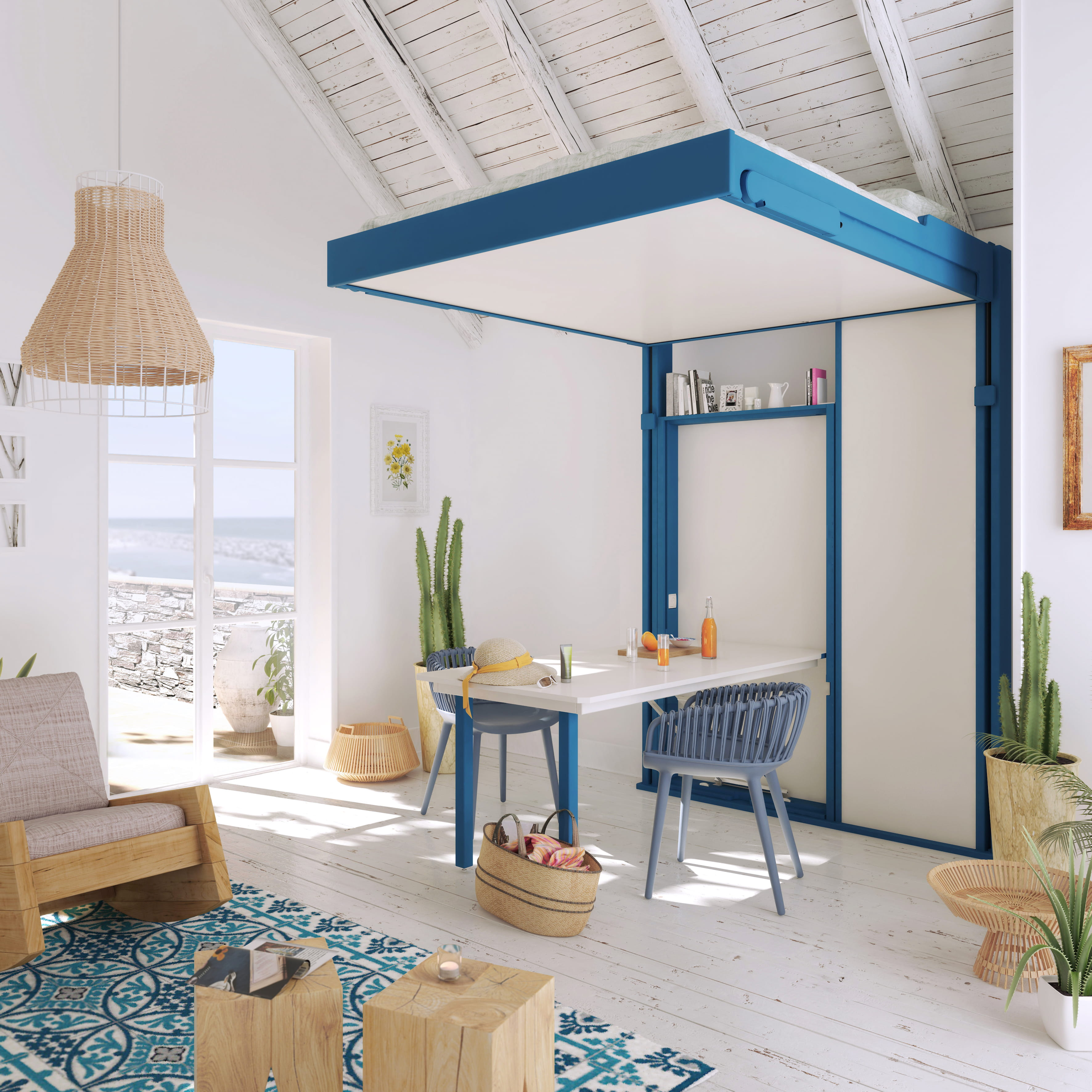 ... Loggia : Le lit escamotable à la rescousse des petits espaces