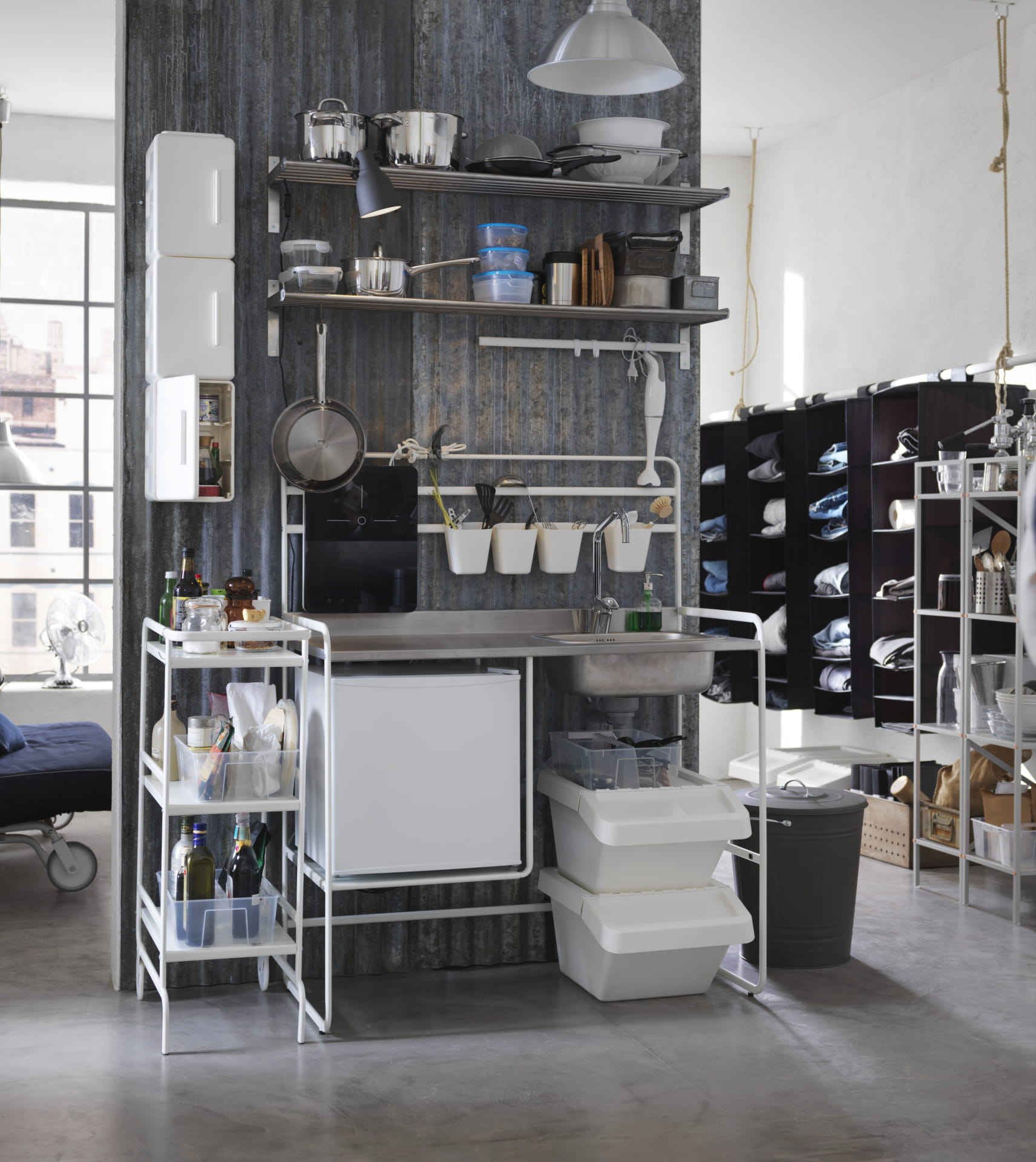 mini cuisine nomade sunnersta par ikea tous dans la. Black Bedroom Furniture Sets. Home Design Ideas