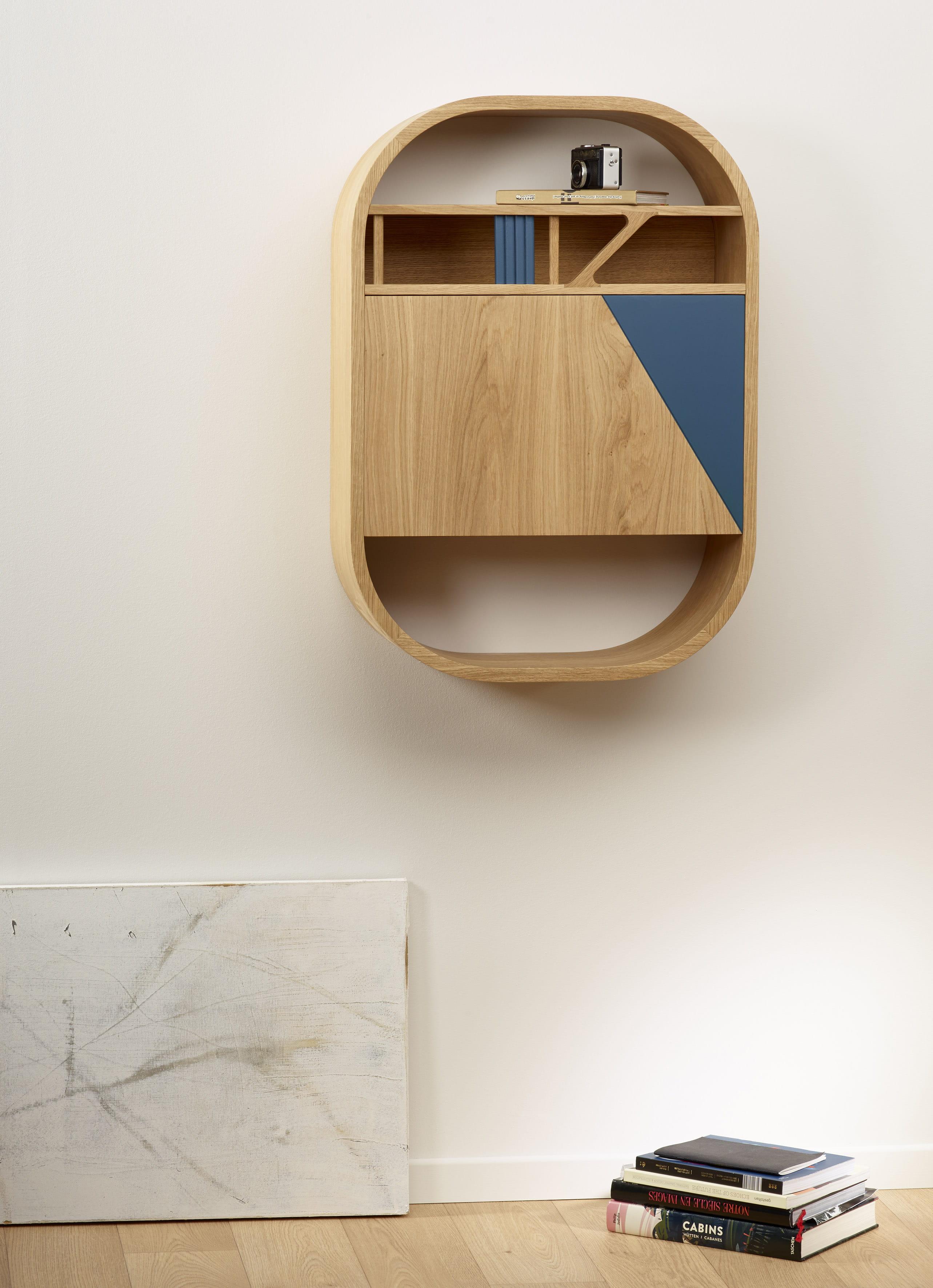 bureau mural latitude par camif. Black Bedroom Furniture Sets. Home Design Ideas