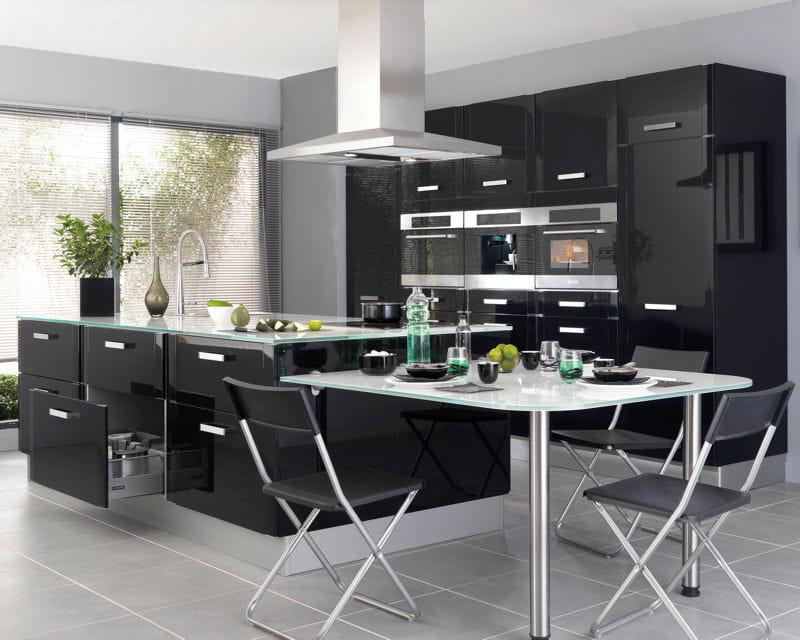 cuisine silver de lapeyre les nouvelles cuisines tendance journal des femmes. Black Bedroom Furniture Sets. Home Design Ideas