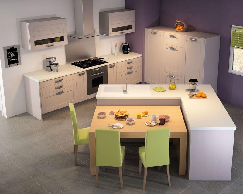 cuisine home de comera les nouvelles cuisines tendance journal des femmes. Black Bedroom Furniture Sets. Home Design Ideas