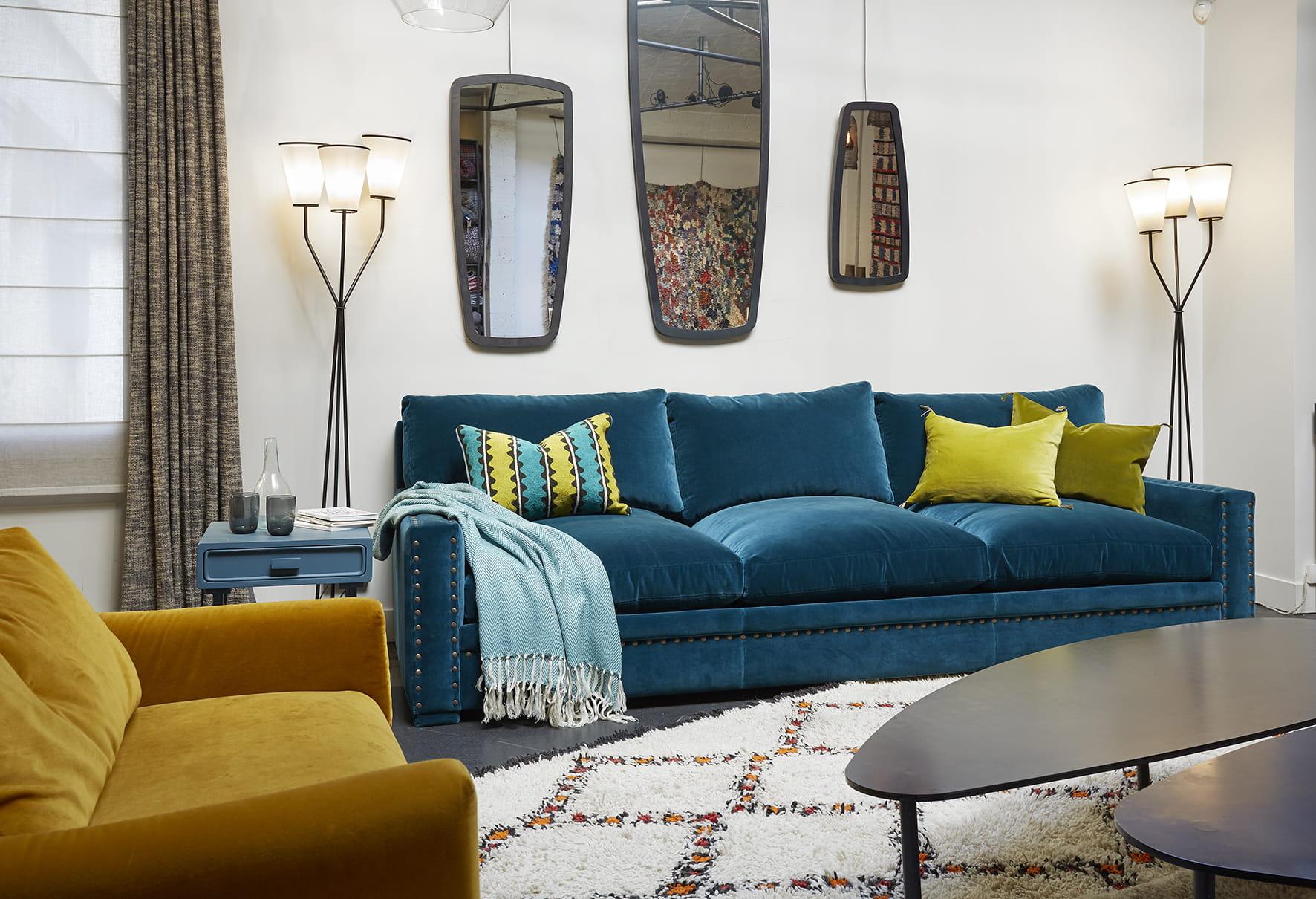 canap victor par caravane. Black Bedroom Furniture Sets. Home Design Ideas