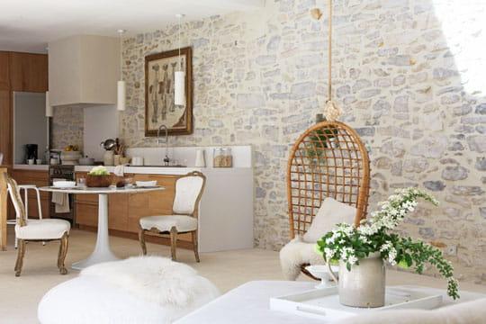 r ve de blancheur 30 id es d co pour un retour la nature journal des femmes. Black Bedroom Furniture Sets. Home Design Ideas