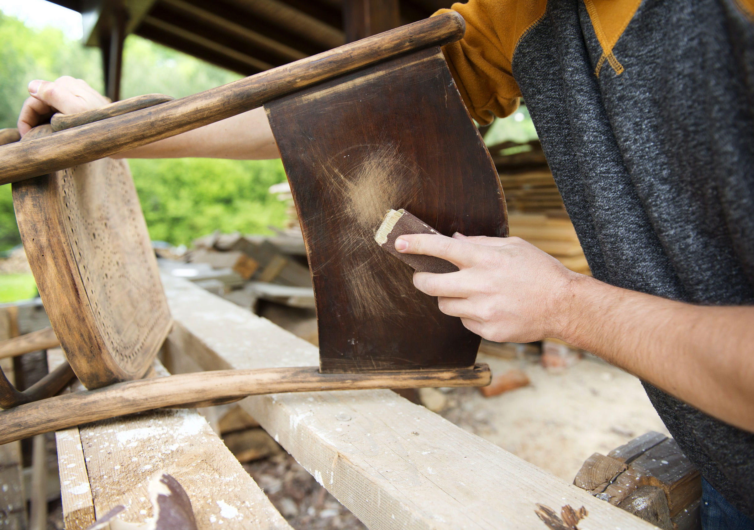 Relooker un meuble en bois for Renover un vieux meuble en bois