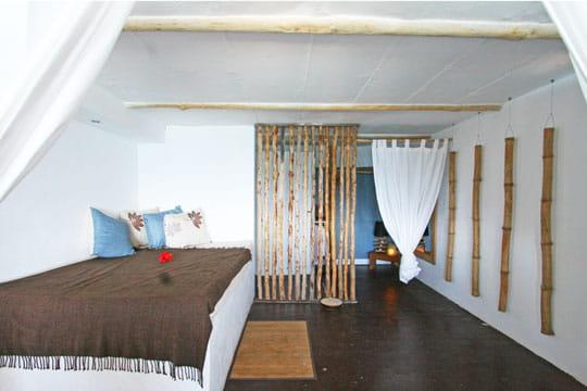 version bambou 30 id es d co pour un retour la nature. Black Bedroom Furniture Sets. Home Design Ideas