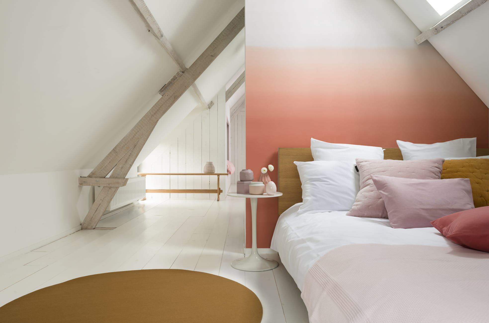 D grad de peintures rose par dulux valentine quelle for Quelle couleur pour ma chambre