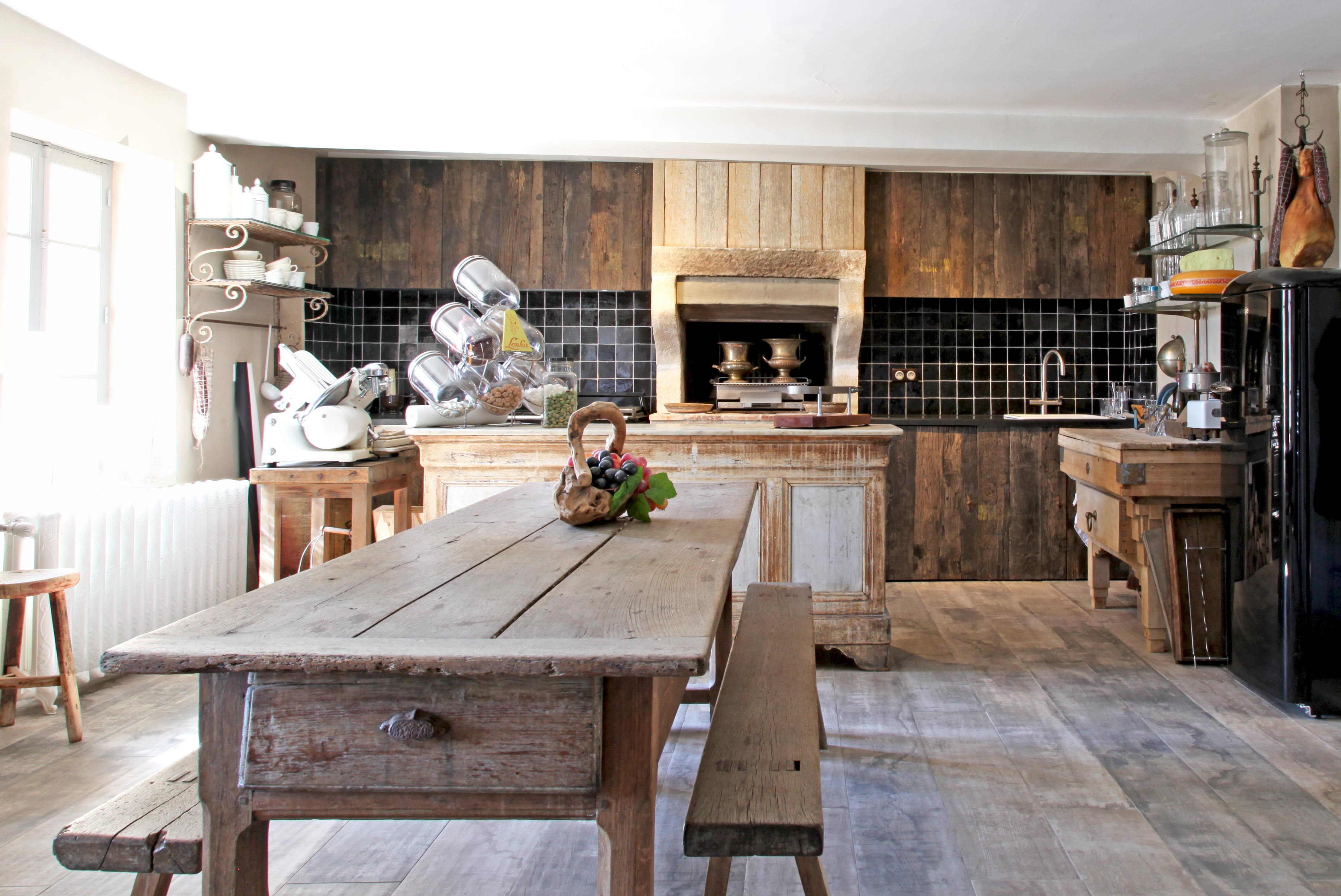 Une cuisine d 39 t - Cuisine style campagne chic ...