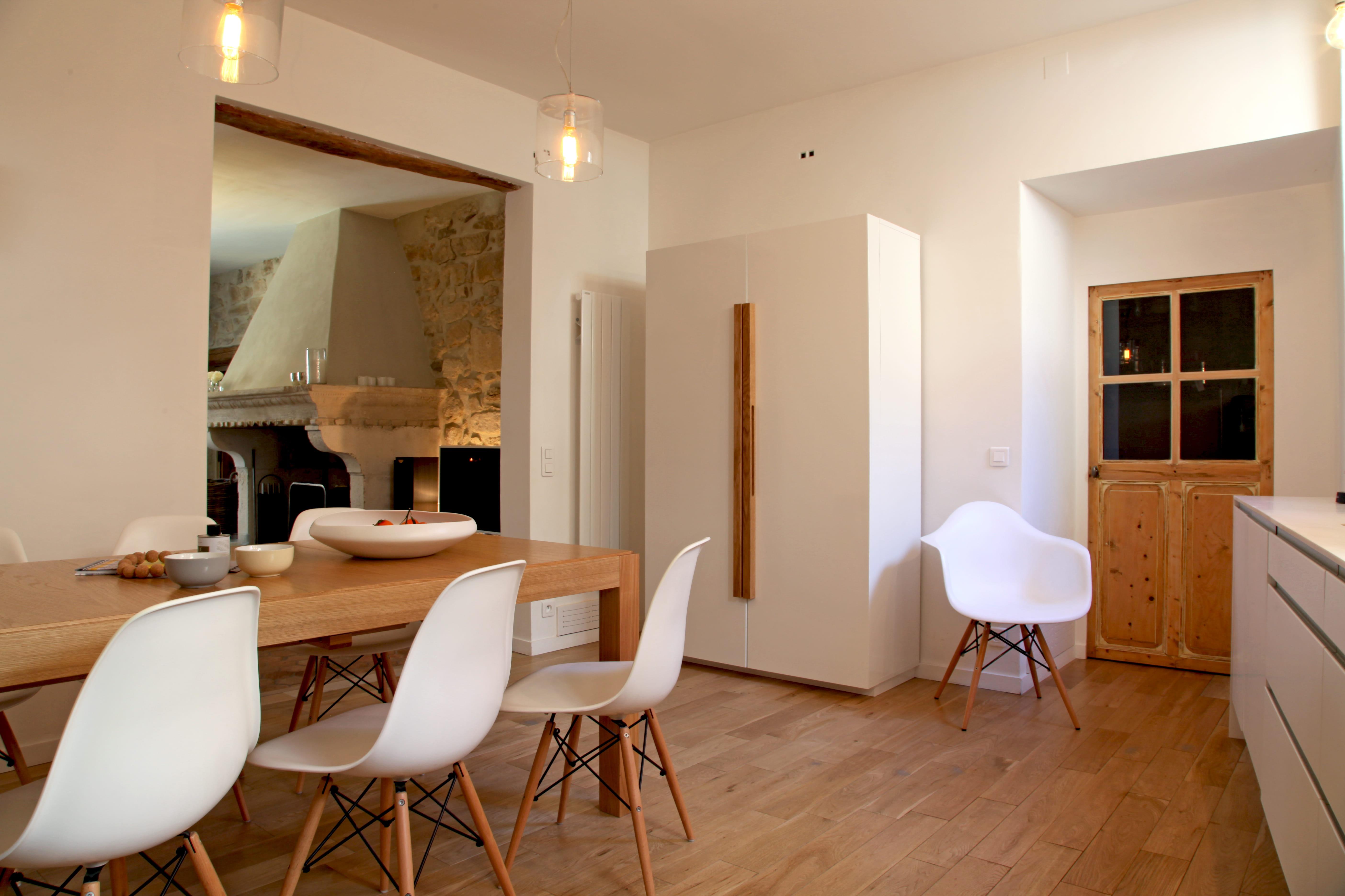 6 solutions pour ouvrir la cuisine - Ouverture entre cuisine et salle a manger ...