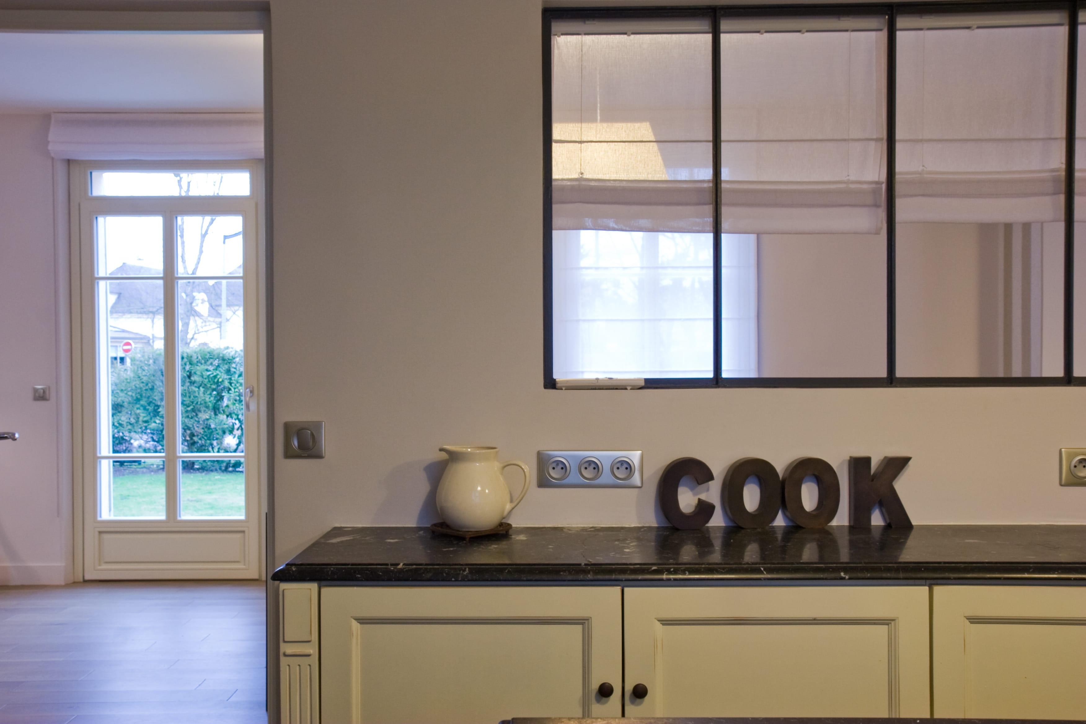 6 solutions pour ouvrir la cuisine for Modele de separation entre cuisine et salle a manger
