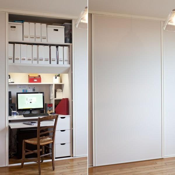 10 id es pour installer un coin bureau dans un petit espace - Amenagement bureau petit espace ...