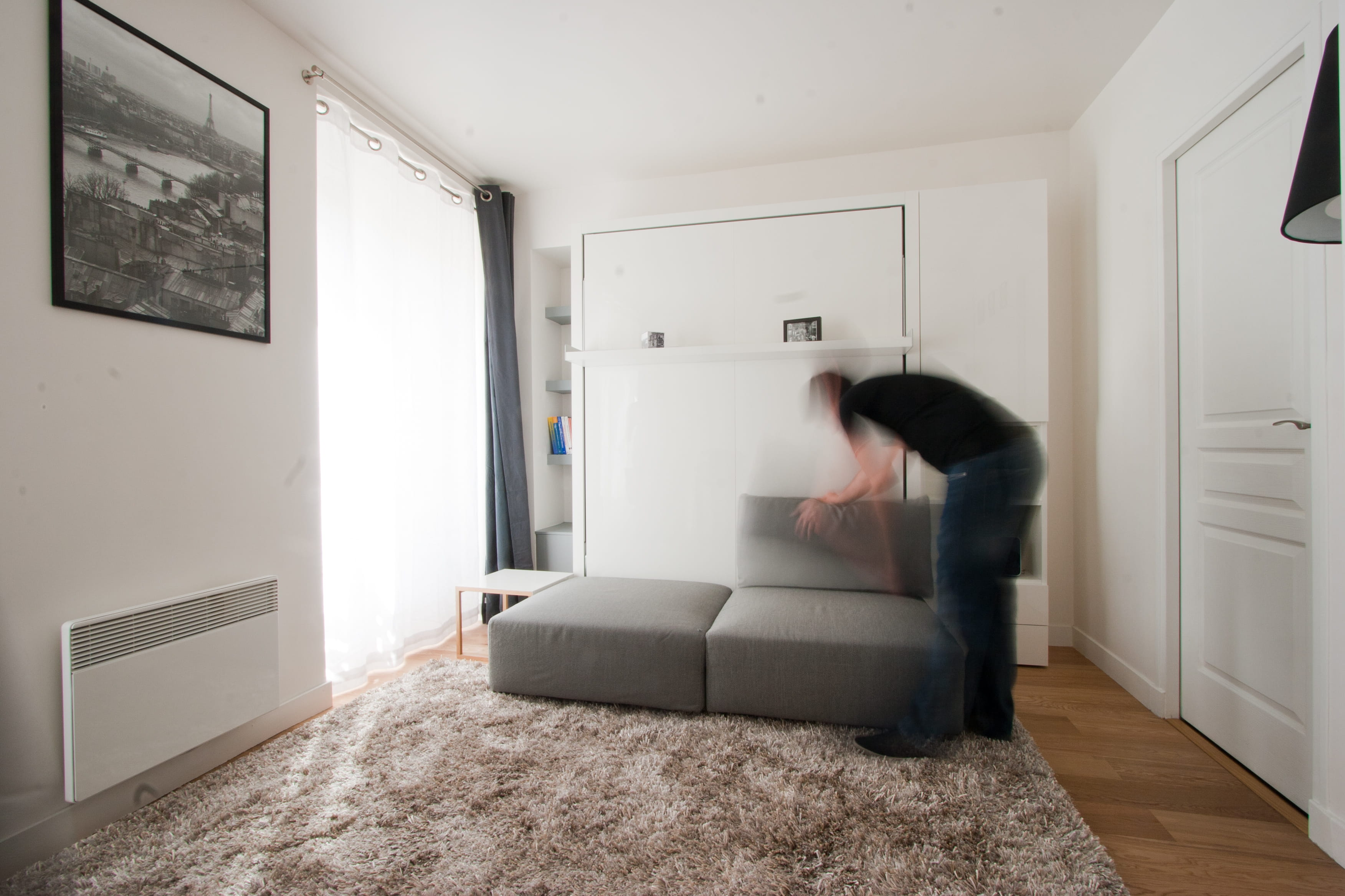 comment gagner de la place 12 id es pour optimiser les. Black Bedroom Furniture Sets. Home Design Ideas