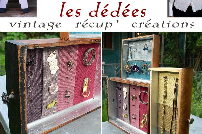 fabriquez un pr sentoir bijoux avec les d d es journal des femmes. Black Bedroom Furniture Sets. Home Design Ideas