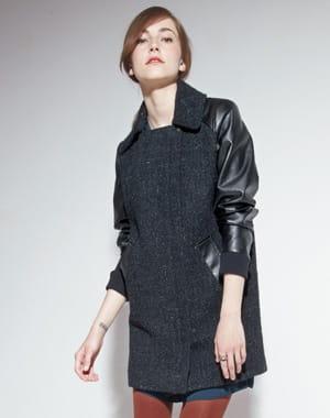 Bi mati re chaud les manteaux chauds journal des femmes - Manteau comptoir des cotonniers hiver 2013 ...