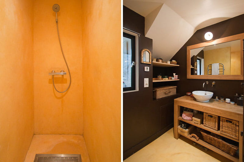 Une douche l 39 italienne pour plus de confort une maison - Salle d eau a l italienne ...