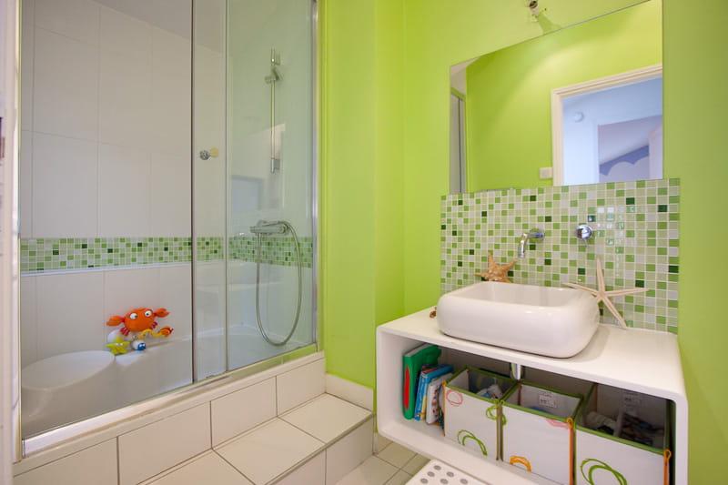 Une Salle D 39 Eau Pour Les Enfants Une Maison Loft Qui S