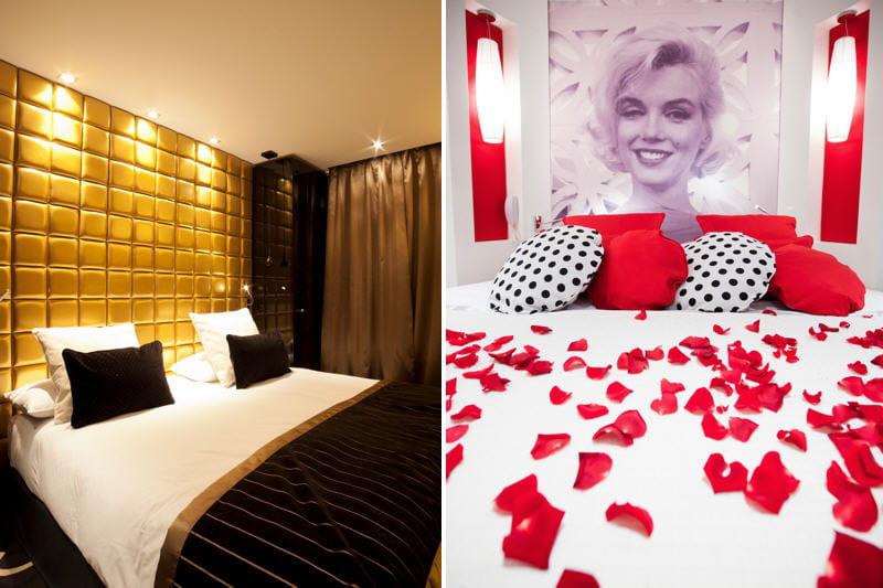 chambre blanc dor la chambre noir dor et rouge blanc - Chambre Blanche Et Rouge