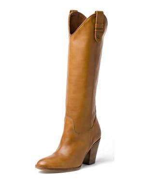 western les chaussures en mode hiver journal des femmes. Black Bedroom Furniture Sets. Home Design Ideas