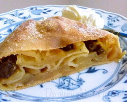 apfelstrudel comme a vienne