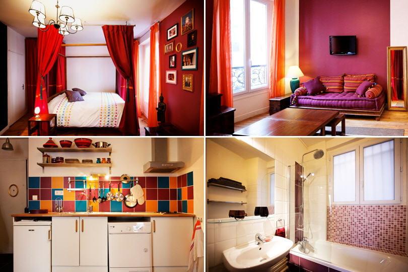 Avant apr s le relooking boh me chic d 39 un studio for Idee decoration studio