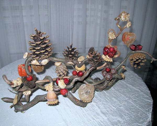 Nature en f te - Fabrication de decoration de noel ...