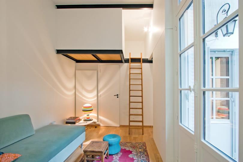 Gain de place assur dans un studio vos reportages d co pr f r s en 2011 - Gain de place studio ...