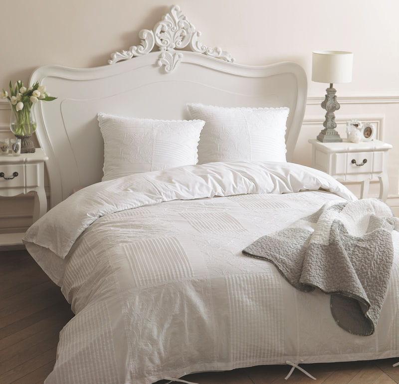 parure de lit housse de couette de luxe broderie floral bed mattress sale. Black Bedroom Furniture Sets. Home Design Ideas