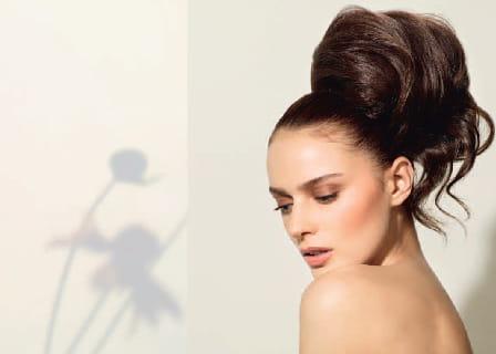 chignon m ch de lucie saint clair les coiffures de mari es tendance pour 2012 journal des. Black Bedroom Furniture Sets. Home Design Ideas