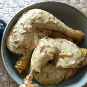 cuisses de poulet la moutarde 50 recettes sans chichi pour recevoir ses amis journal des. Black Bedroom Furniture Sets. Home Design Ideas