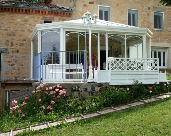 La v randa ce joli jardin d 39 hiver journal des femmes - Jardin d hiver de la berteliere ...