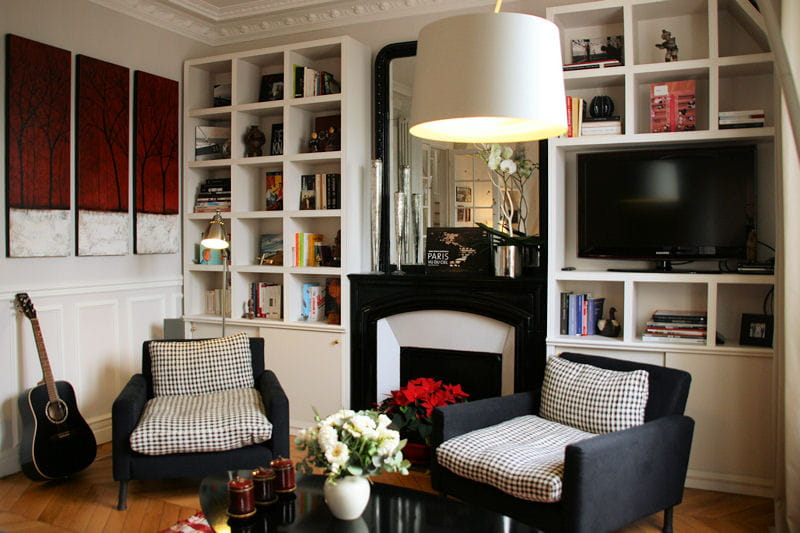 une ambiance conviviale d co ethnique chic dans un duplex journal des femmes. Black Bedroom Furniture Sets. Home Design Ideas