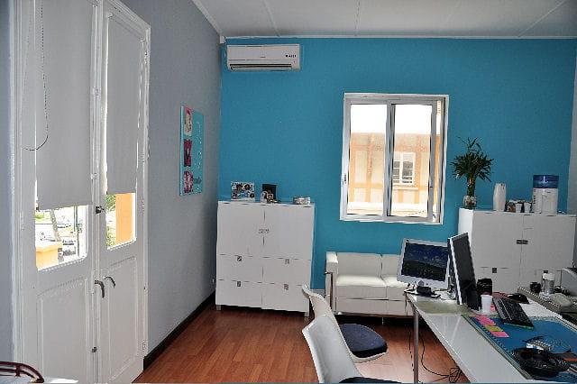Cuisine Mur Bleu Turquoise : Bleu studieux : Déco bleue : il flotte ...