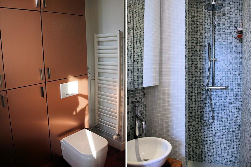 une salle d 39 eau buanderie. Black Bedroom Furniture Sets. Home Design Ideas