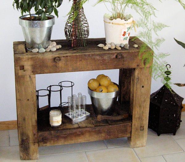 Le vieil tabli de grand p re astuces r cup 39 pour tables - Astuces bricolage recup ...