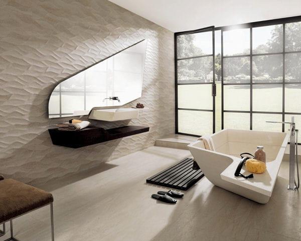 Vasque et meuble spirit de porcelanosa for Meuble salle de bain porcelanosa