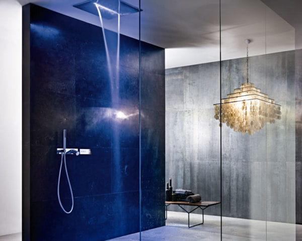 Pomme de douche acqua zone de fantini rubinetti un vent nouveau sur la salle de bains for Pomme de douche