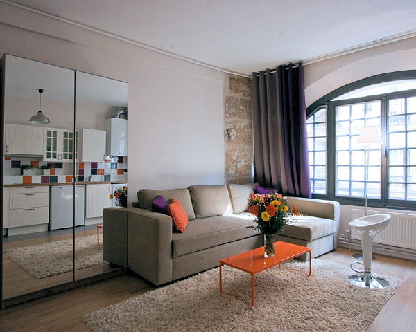 Studio moderne et styl for Deco interieur appartement moderne