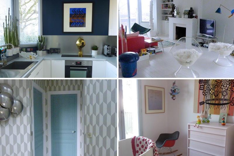 Avant apr s le relooking moderne d 39 une maison journal for Avant shampoing maison