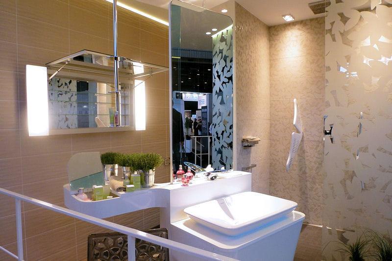 la salle de bains tendance spa dedans dehors de fabrice knoll. Black Bedroom Furniture Sets. Home Design Ideas