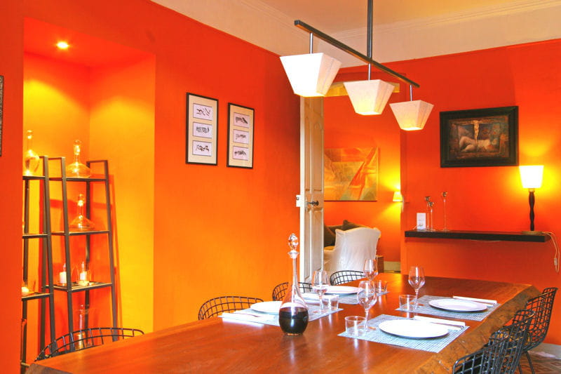 Cuisine total look la couleur d co du mois l 39 orange for Deco cuisine gris et orange