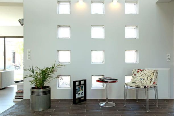 Carreaux de lumi re des carreaux gogo journal des femmes - Mur en verre interieur ...