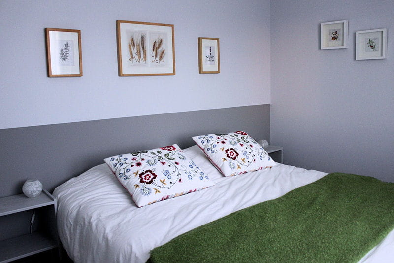 garrigue la chambre verte visitez la maison d 39 isabelle journal des femmes. Black Bedroom Furniture Sets. Home Design Ideas