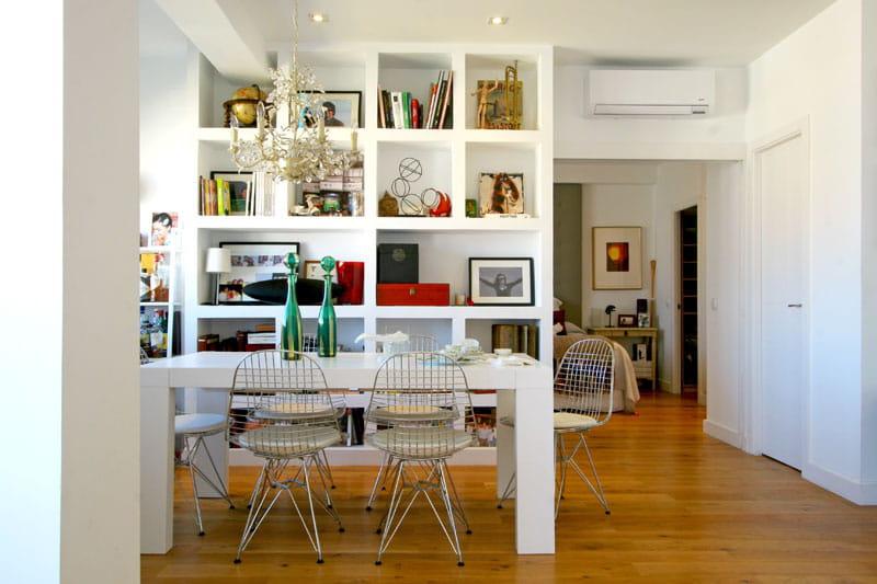 Des espaces restructur s un appartement repens for Case fatte da architetti