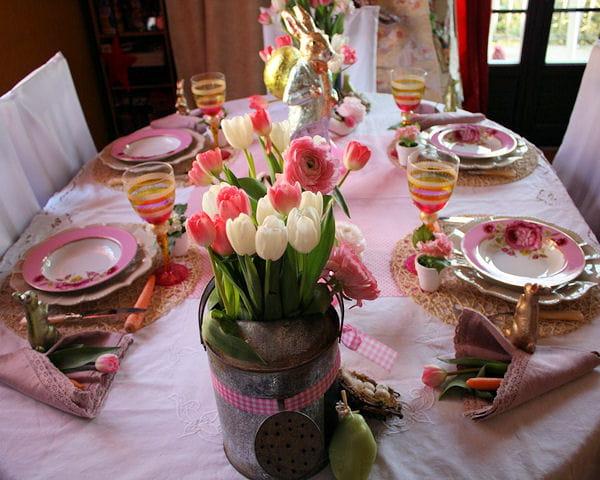 la table le printemps de jeannot lapin journal des femmes. Black Bedroom Furniture Sets. Home Design Ideas