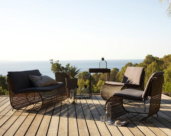 Salon d 39 ext rieur sirena de am pm du mobilier d co pour un jardin printanier journal des femmes - Am pm meubels ...