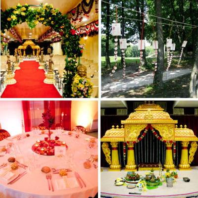 Un mariage hindou vu par l 39 agence physalis 22 d corations de wedding pl - Decoration mariage hindou ...