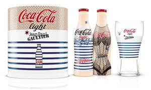 coffret coca light night & day de jean paul gaultier