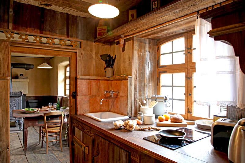 cuisine d 39 antan d co authentique dans une ferme